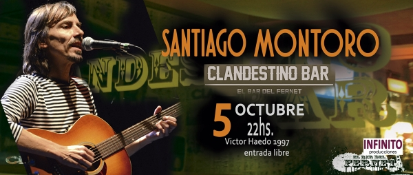 5 OCT Clandestino Bar