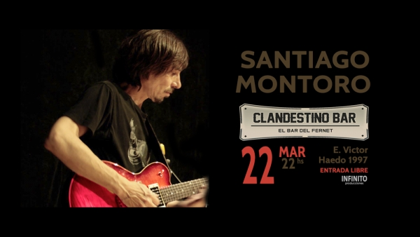 22 MAR Clandestino Bar
