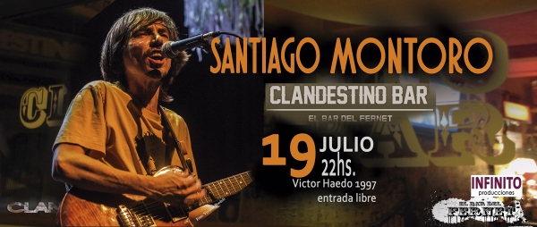 19 JUL Clandestino bar